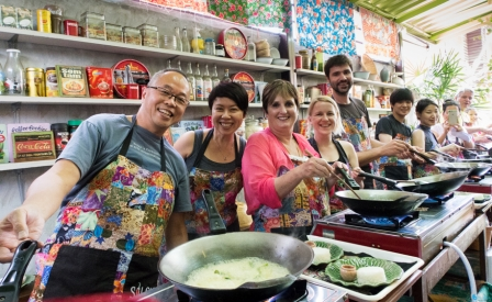 <p>But I went for this....... Silom Thai Cooking School. Really great fun and far less dangerous........</p>