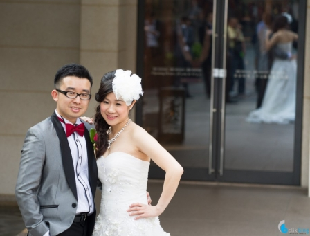 <p>Why do most Chinese brides look better than their husbands? &nbsp;Myself included.</p>